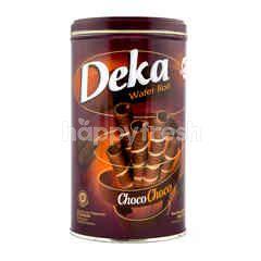 Deka Wafer Gulung Cokelat