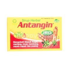 Antangin Herbal Syrup JRG