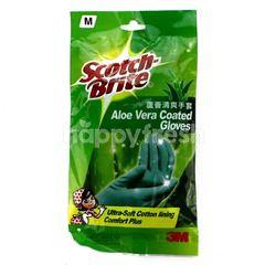 Scotch-Brite Aloe Vera Coated Gloves M