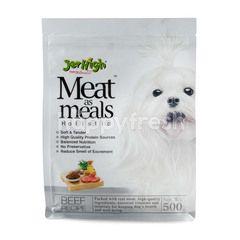 เจอร์ไฮ มีทแอสมิลส์ อาหารสุนัข รสเนื้อ