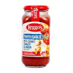 Leggo's Saus Pasta Bawang Bombay Panggang dengan Potongang Tomat & Bawang Putih