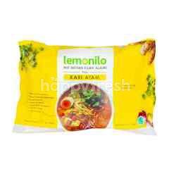 Lemonilo Instant Noodle Chicken Curry Flavor Natural Noodle
