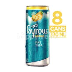 Fayrouz Pineapple Canned Fine Soda (8 cans)