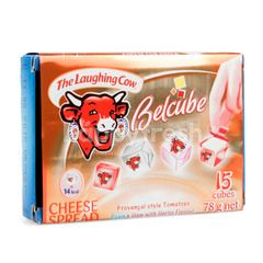 The Laughing Cow Belcube Cheese Spread Red