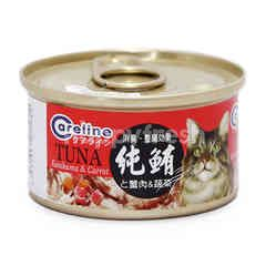 Careline Tuna With Kanikama & Carrot Flavoured Cat Food