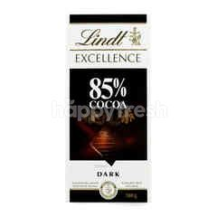 Lindt Excellence 85% Cocoa Dark Chocolate