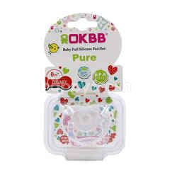 OKBB Baby Full Silicone Pacifier