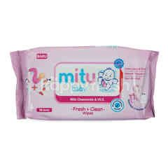 Mitu Baby Fresh & Clean Wipes