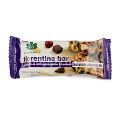 BrookFarm Florentina Bar Gluten Free With Macadamias & Coconut Belgian Chocolate
