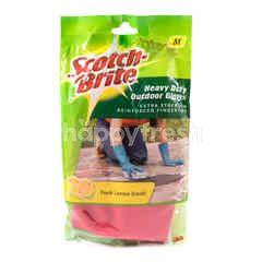Scotch-Brite Heavy Duty Outdoor Gloves ID-84 Fresh Lemon Scent