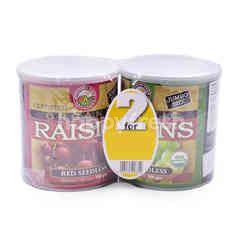 Country Farm Organics Raisins (Red Seedless & Green Seedless)
