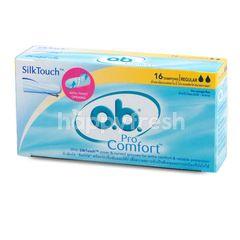 O.B. Pro Comfort Tampons Regular 16 Pcs