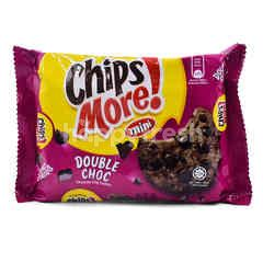 CHIPS MORE Mini Double Choc Chocolate Chip Cookes