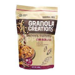 Granola Creations Original Mix Authentic Toasted Muesli Cinnamon & Raisins