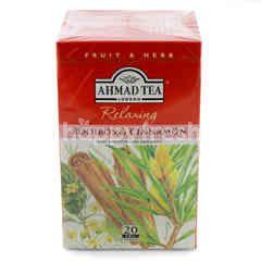 Ahmad Tea London Relaxing Rooibos & Cinnamon Tea