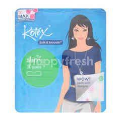 Kotex Soft & Smooth Slim (Regular Flow) Non Wing