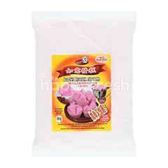 Ru Yi Fa Gao Steamed Sponge Cake - Pink Colour
