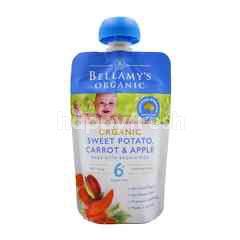 Bellamy's Organic Organic Sweet Potato, Carrot & Apple Smooth Puree