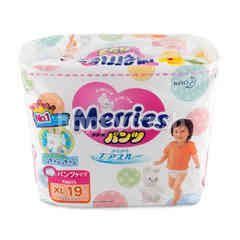 Merries Baby Diapers Pants XL 19 Pcs