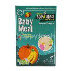 Love Earth Baby Meal Sprouted Brown Rice Banana & Pumpkin