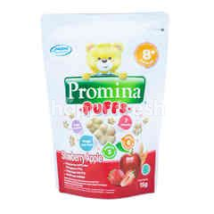 Promina Puffs Strawberry & Apple Rice Snack