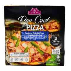 TOPVALU Pan Crust Seafood Delight Mini Pizza