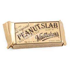 Whittaker's Slab Cokelat Susu Bar dengan Kacang