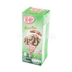 คิทแคท ไอศกรีมโคนชาเขียว
