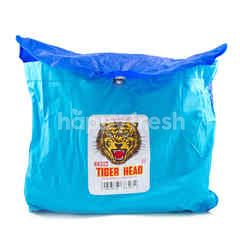 Tiger Head Horizon Blue Raincoat