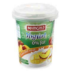 Marigold Mixed Peach Mango Fruit Flavour Yogurt