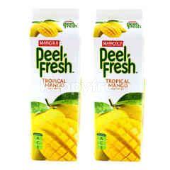 Marigold Peel Fresh Mango Juice Twinpack