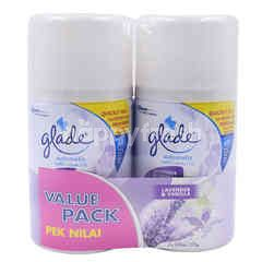 Glade Lavender & Vanilla Air Freshener Automatic Spray Refill (2 Pieces)