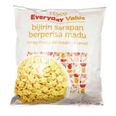Tesco Everyday Value Honey Flavoured Breakfast Cereal