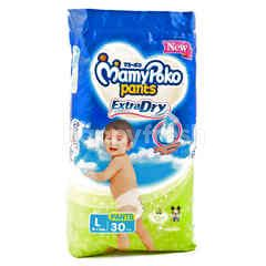 MamyPoko Extra Dry Baby Pants Diaper L (30 pieces)
