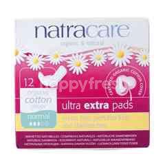 Natracare 12.5 cm Ultra Extra Pads (12 pieces)