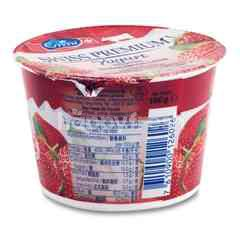 Emmi Swiss Premium Strawberry Yogurt