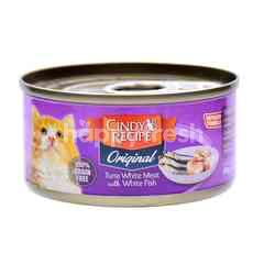 CINDY RECIPE Tuna White Meat With White Fish Cat Food