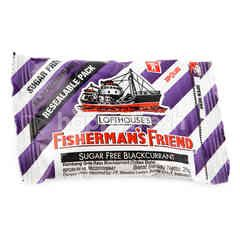 Fisherman's Friend Sugar Free Candy Blackcurrant