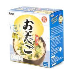 โอทาโกะ ซุปไข่ ผสมสาหร่ายกึ่งสำเร็จรูป