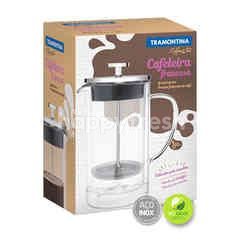 Tramontina Double-Walled Glass And Stainless Steel French Press Lenght 10 cm 950 ml