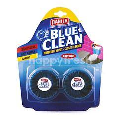 Dahlia Biru Bersih