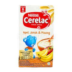 Cerelac Baby Cereal Porridge Apple Orange Banana 6-24 Months
