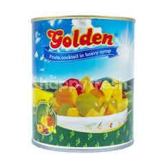 Golden Koktail Buah dalam Sirup Kental