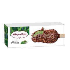 Haagen-Dazs Green Tea Almond Stickbar