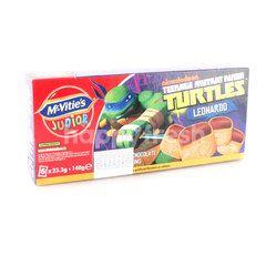 MCVITIE'S Junior Ninja Turtles Leonardo