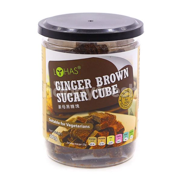 LOHAS Ginger Brown Sugar Cube