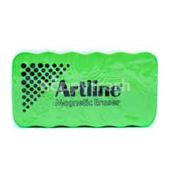 Artline Magnetic Whiteboard Eraser Green