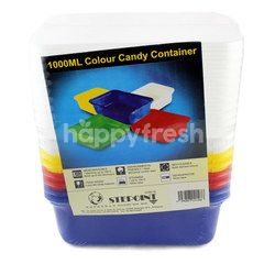 Stepoint 1000ml Colour Candy Container
