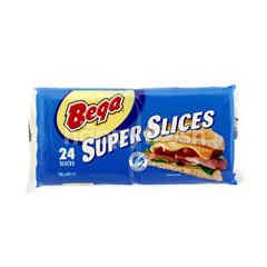 Bega Super Slices Cheese (24 Pieces)