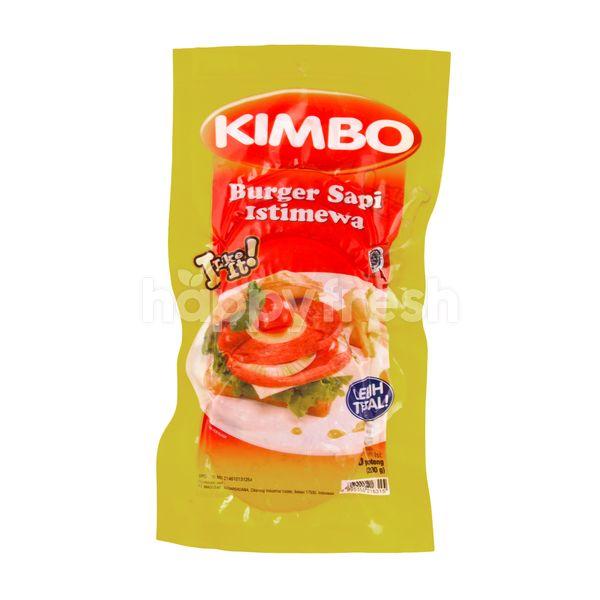 Kimbo Kitchen Special Beef Burger